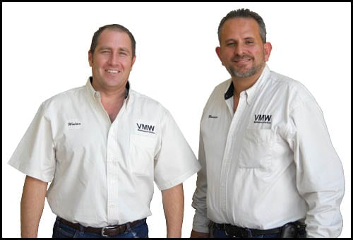 Walt Rodriguez and Mauricio Breton, VMW Maintenance Solutions